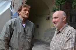 Cserhalmi György és Horváth Kornél (Fotó: Antal István)